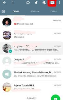 Notification hide whatsapp