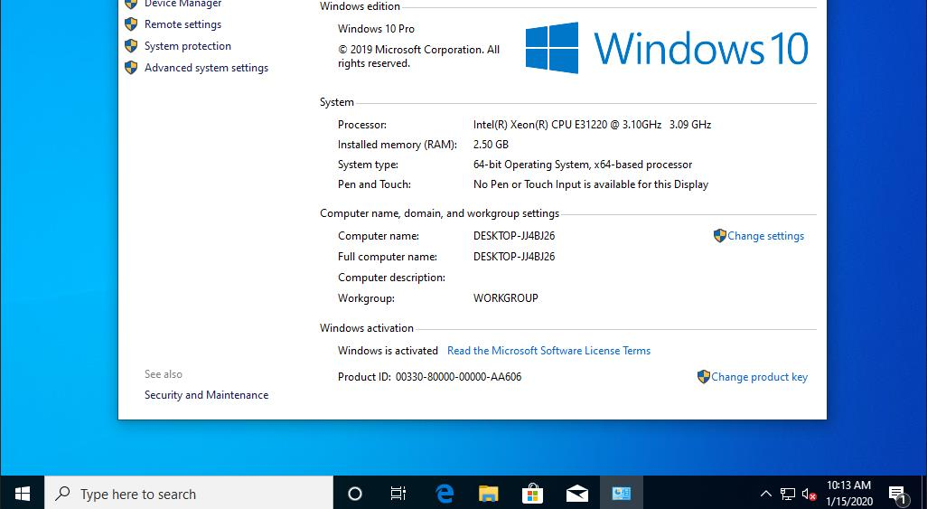 Windows 10 Pro Full Español