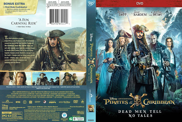 Pirates of the Caribbean: Dead Men Tell No Tales DVD Cover