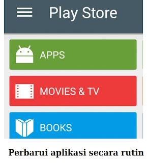 Manfaat perbarui aplikasi android