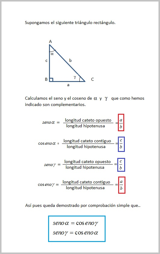 Mi rincón de las matemáticas: Trigonometría (1). Introducción.