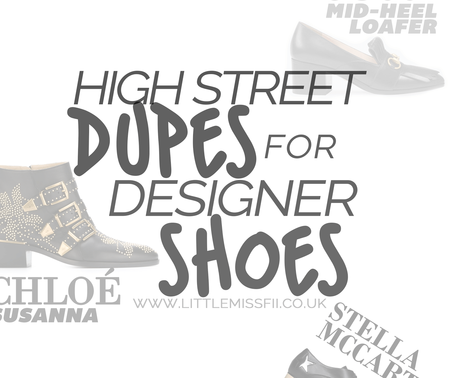 high street dupes for designer shoes