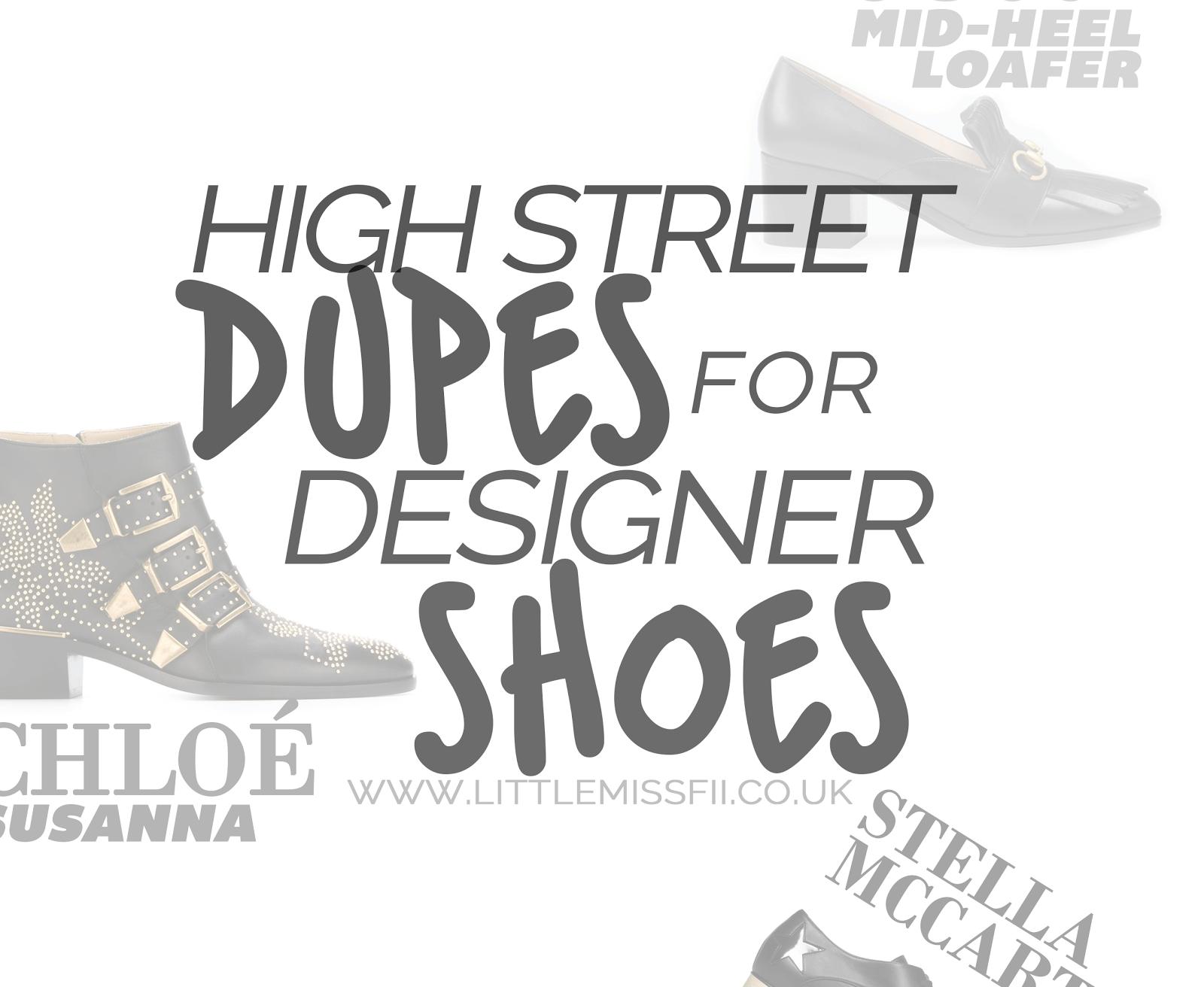 high street dupes for designer shoes