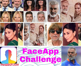 FaceApp celebraties photos