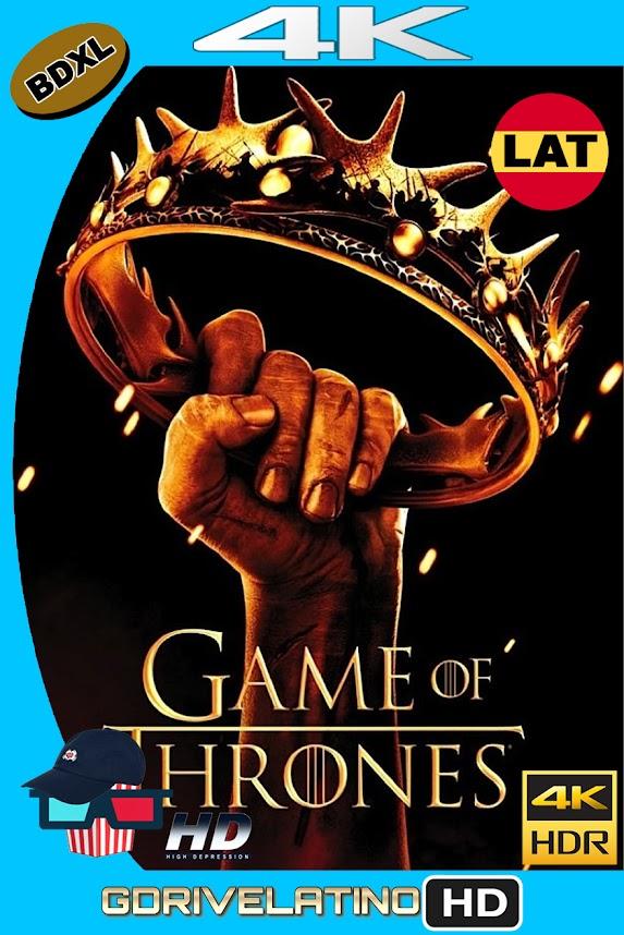 Juego de Tronos Temporada 02 (2012) BDXL 4K UHD HDR DV Latino-Ingles ISO