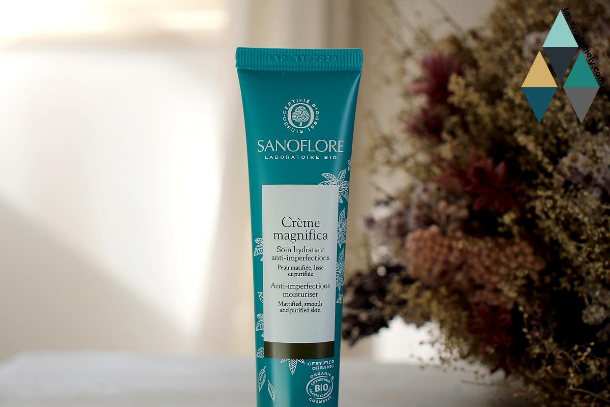 revue beauté crème magnifica bio sanoflore