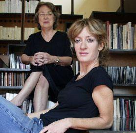 Milena Busquets y Esther Tusquets