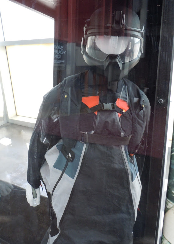 Transformers 3 wing-suit skydiving costume