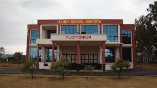Sainik School Nagrota Jammu & Kashmir