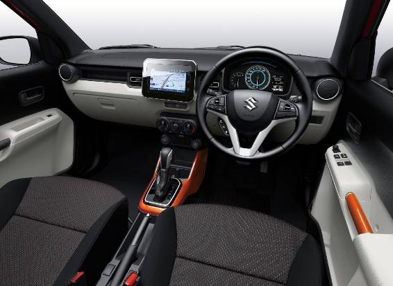Interior Mobil SUV Suzuki Ignis Terbaru Keren