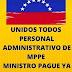 Trabajadores ADMINISTRATIVO del Ministerio de Educación exigen a Aristóbulo Istúriz pagos atrasados