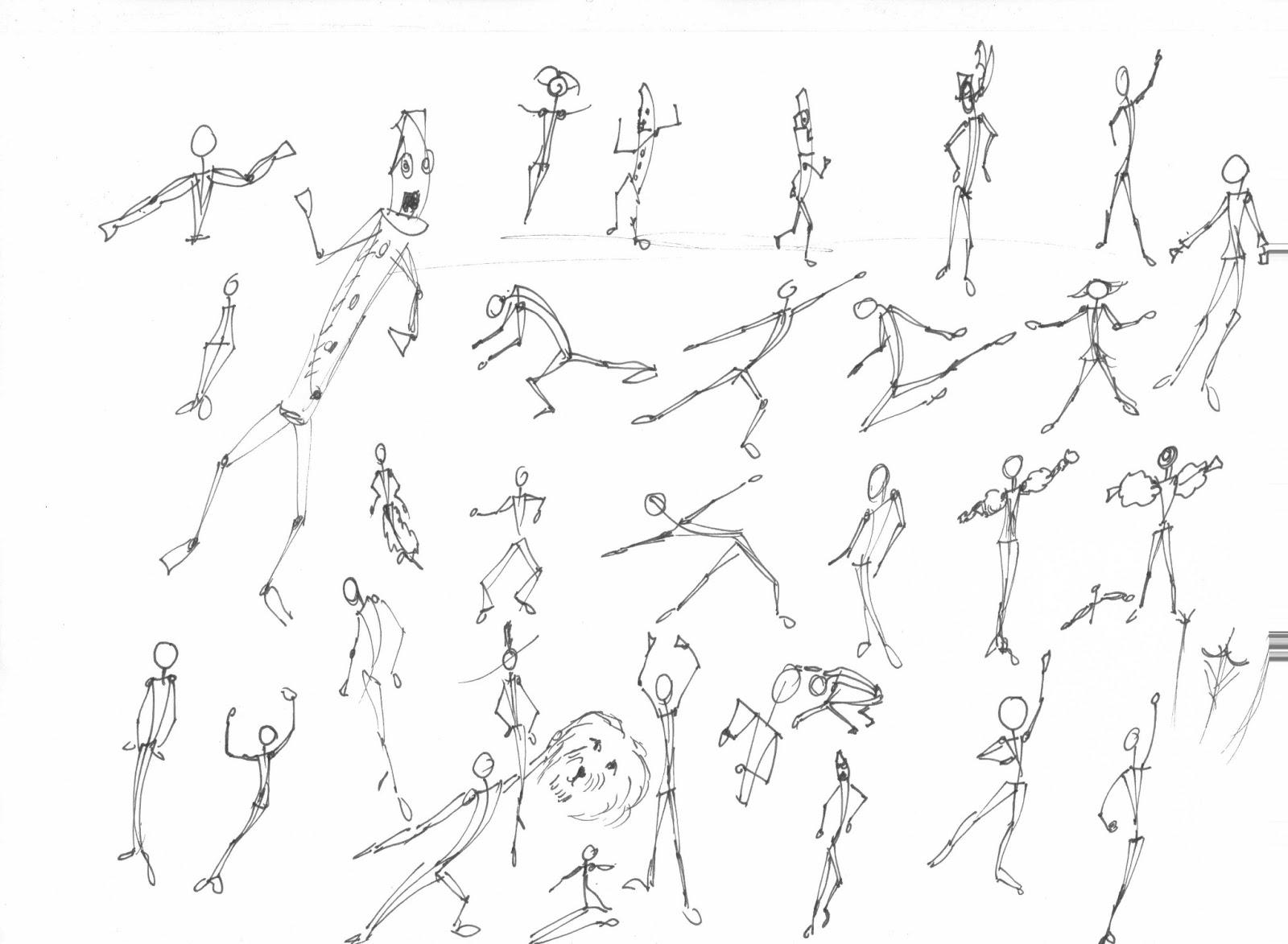 Guillermo Davis El Iyawo Animation Sketches Of Movement