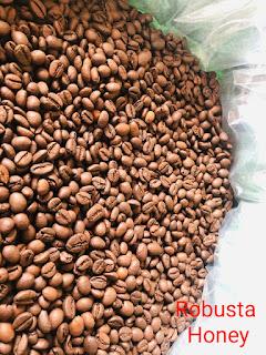 CAFE HẠT ROBUSTA HONEY