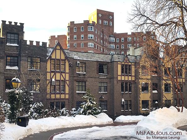 tudor style apartment