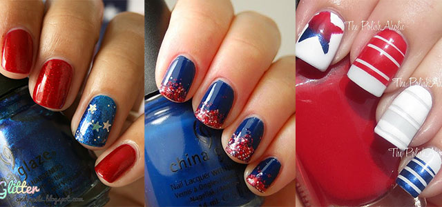 Happy 4th Of July 2017 Best Nail Art Happy Independence Day 2017