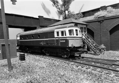 Hopwood. OO gauge model railway layout.