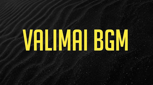 Valimai Bgm Ringtone Download