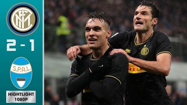 Inter 2 - 1 Spal serial A highlight
