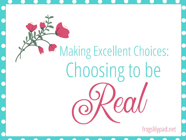 Choosing to be real is just as important as making excellent choices. You can almost always quickly pick up on the fakeness of people. We don't want to be labeled a fake, but rather a real, authentic person. #choices #life #self