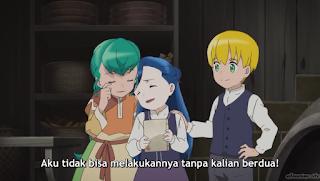 Honzuki no Gekokujou: Shisho ni Naru Tame ni wa Shudan wo Erandeiraremasen Season 2 Episode 08 Subtitle Indonesia