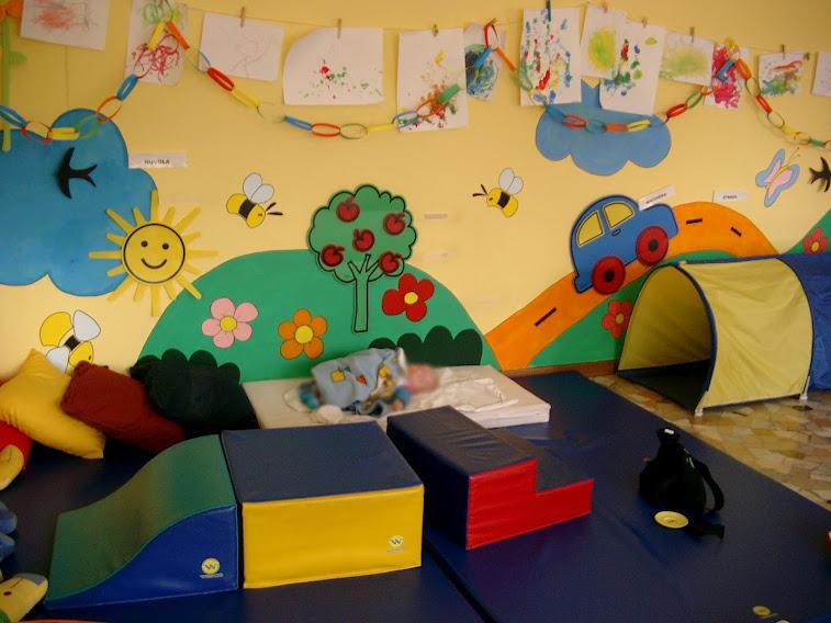 Camerette bambini decorazione asilo nido with pareti - Decori pareti camerette ...