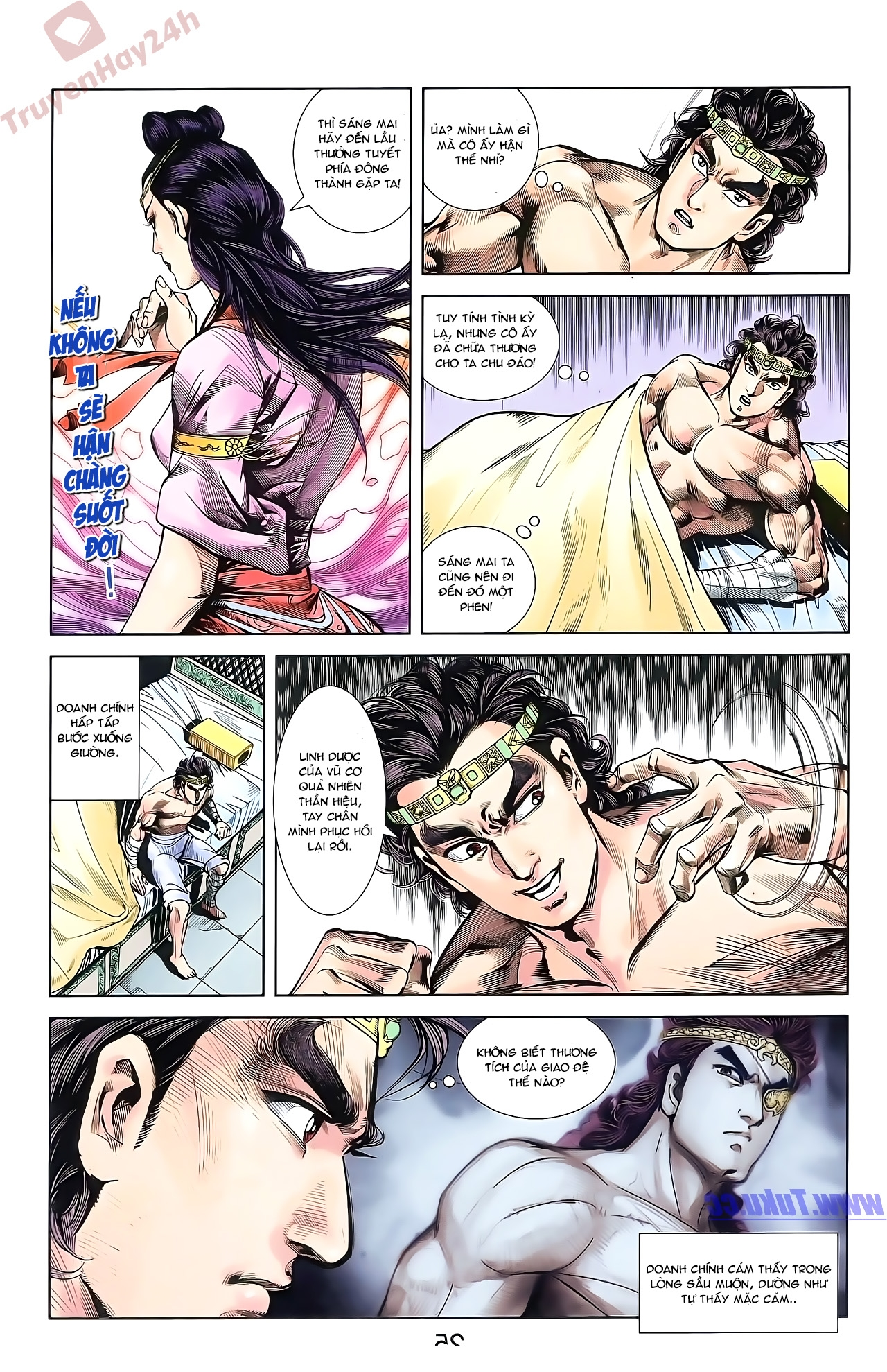 Tần Vương Doanh Chính chapter 50 trang 25