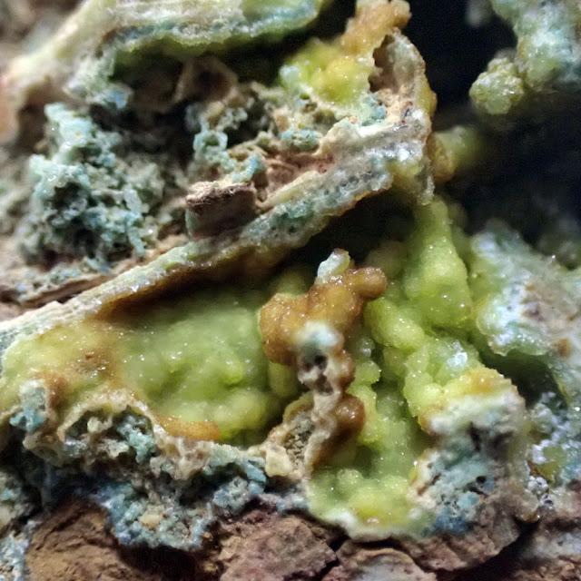 ターコイズ トルコ石 TURQUOISE Palazuelo de las Cuevas, Zamora, Spain