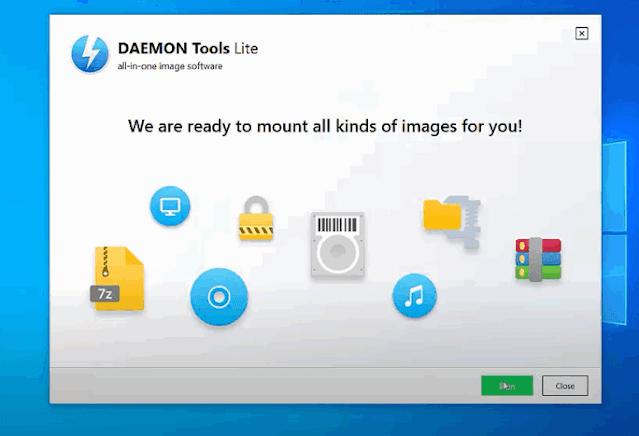 تحميل برنامج daemon tools كامل لويندوز 7