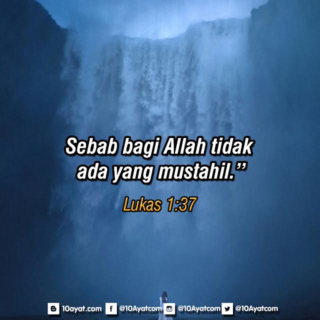 Lukas 1:37