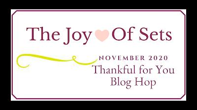 Joy of Set Blog Hop Banner for November 2020