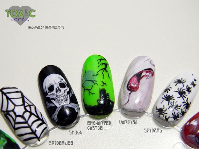 Diseños de uñas para Halloween - Toxic Vanity