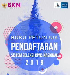 Buku Petunjuk Pendaftaran CPNS Tahun 2019