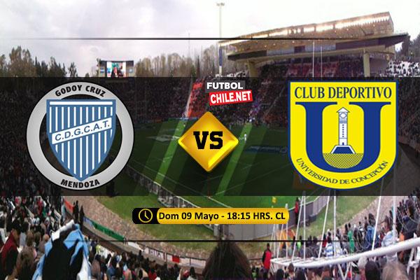 PREVIA: Godoy Cruz vs Universidad de Concepción
