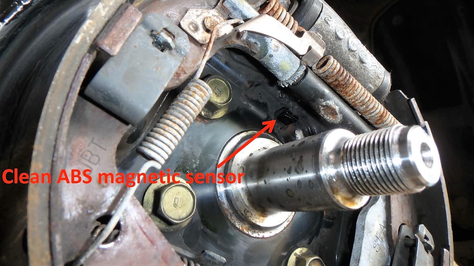 Wheel Bearing Sound >> Rear Wheel Bearing Installation Honda Car