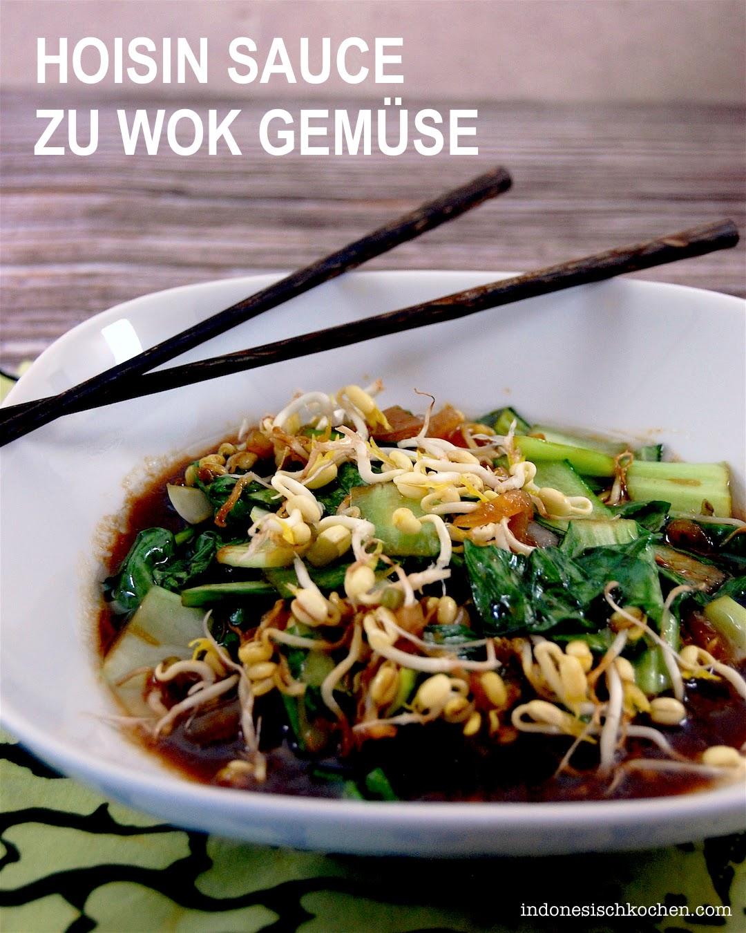 Rezept Hoisin Sauce zu Wok Gemüse asiatisch