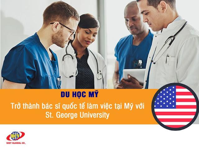 Du học Mỹ: Trở thành bác sĩ quốc tế làm việc tại Mỹ với St. George's University