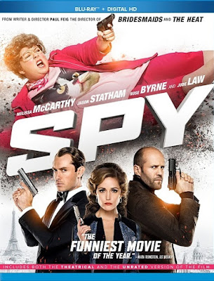 Spy 2015 UNRATED Dual Audio Hindi 480p BluRay 400MB