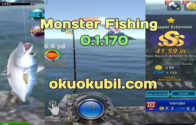 Monster Fishing 0.1.170 Para Hileli Mod Apk İndir Son Sürüm Kasım 2020