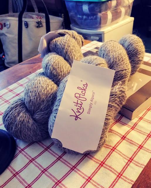 Super soft aran weight alpaca yarn http://shrsl.com/21ez3