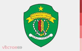 Logo Provinsi Kalimantan Timur (Kaltim) - Download Vector File PDF (Portable Document Format)