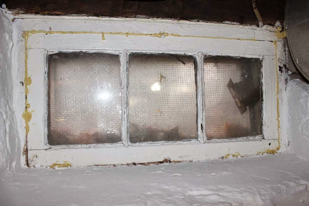 Elba Farm House: Basement Window Replacement
