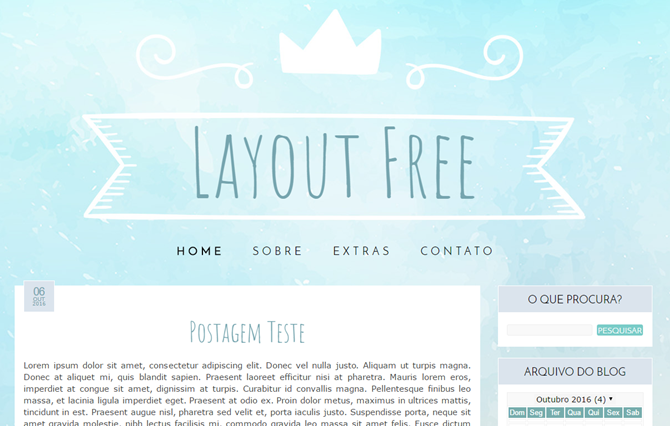 layout gratis download