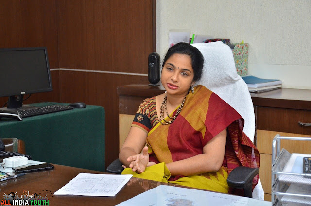 Swetha Mohanty IAS In conference hall