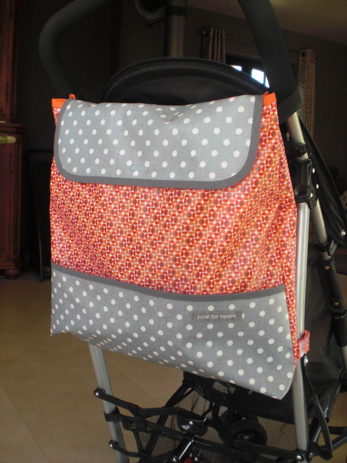 june by valie sac de poussette pour ad le. Black Bedroom Furniture Sets. Home Design Ideas