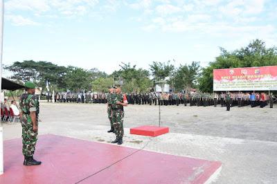 Apel Gelar Pasukan Pengamanan VVIP Kunjungan Kerja Presiden RI di Labuan Bajo