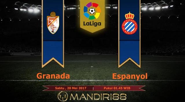 Prediksi Bola : Granada Vs Espanyol , Sabtu 20 Mei 2017 Pukul 01.45 WIB
