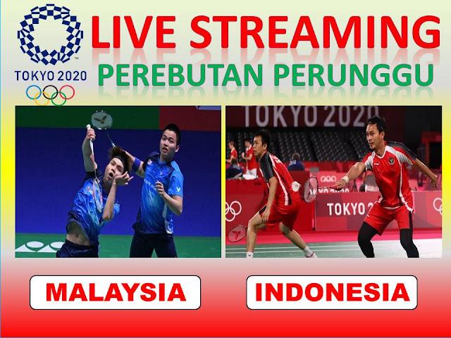 Ayo Nonton Streaming Olimpiade Perebutan Perunggu Ganda Putra : A. Chia/W.Y. Soh (Malaysia) Vs M. Ahsan/H. Setiawan (Indonesia) Jam 17.40 WIB
