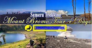 Semeru Trekking Bromo Tour Package 4 Days