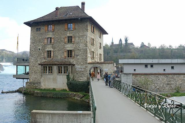 Castillo de Wörth, cataratas del Rin