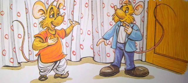 ग्रामीण चूहा और शहरी चूहा Moral Stories In Hindi For Class 5th